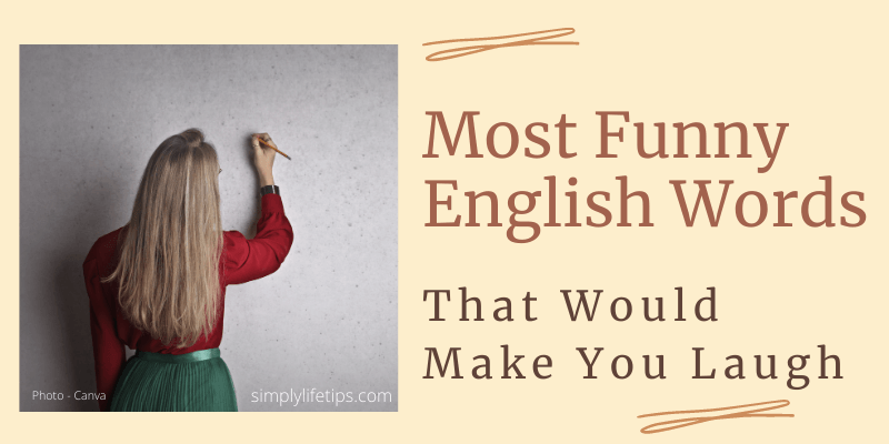 Funny English Words