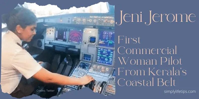 Jeni Jerome First Commercial Woman Pilot