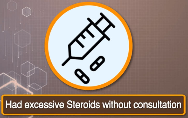 Steroids risk Mucormycosis
