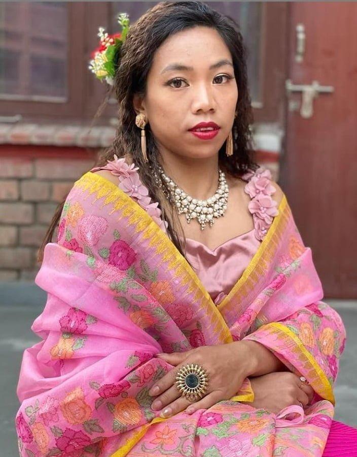 Saikhom Mirabai Chanu Traditional Dress