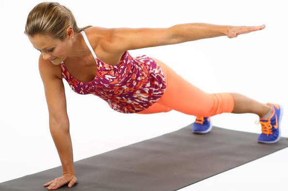 Single arm lateral raise