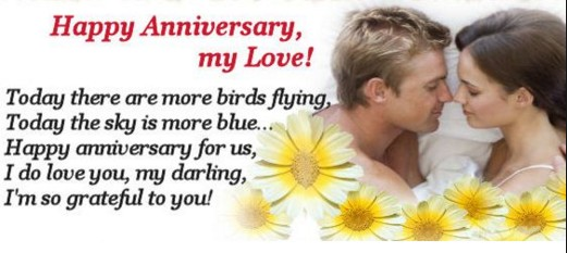 lovely image foe anniversary with proposing each other