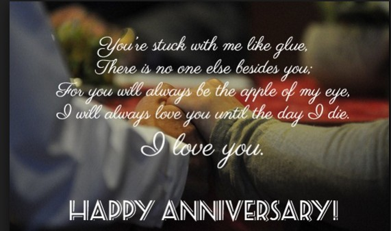 Best happy anniversary quotes for him or her