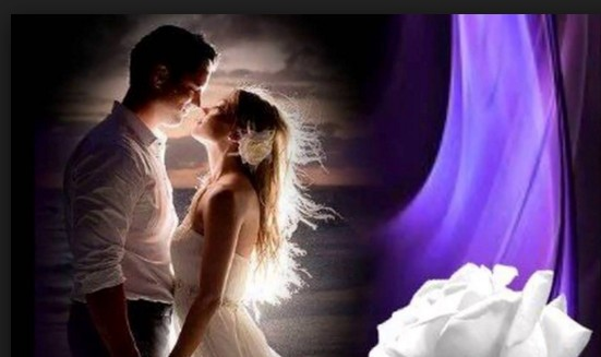 couple images in moon light