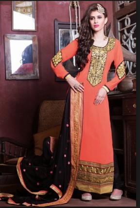 Pakistani Neck Design For Churidar Suits