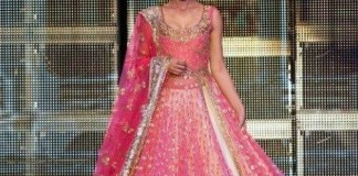 lehenga in pink for bridal