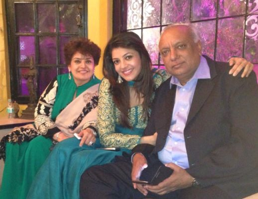 kajal aggrawal family
