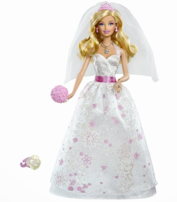 most beautiful bridal barbie dolls