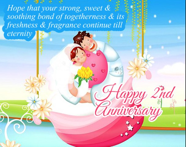 Happy 2nd year wedding anniversary message – Presta wedding blogs