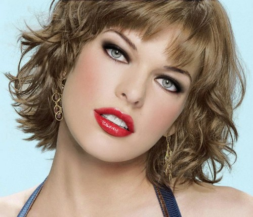 Milla Jovovich beautiful eyes