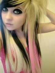 cute emo hairstyles girls