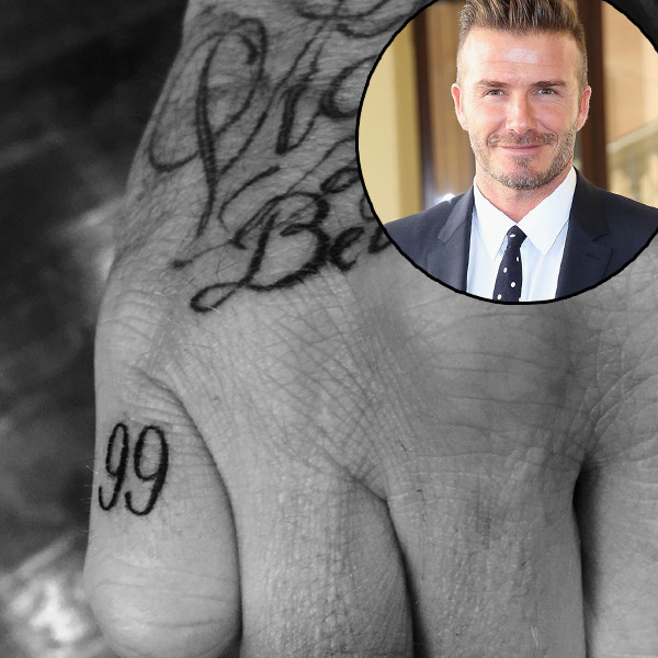 david-beckham-tattoo on little finger