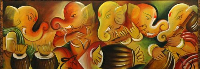 unique image of lord ganesha
