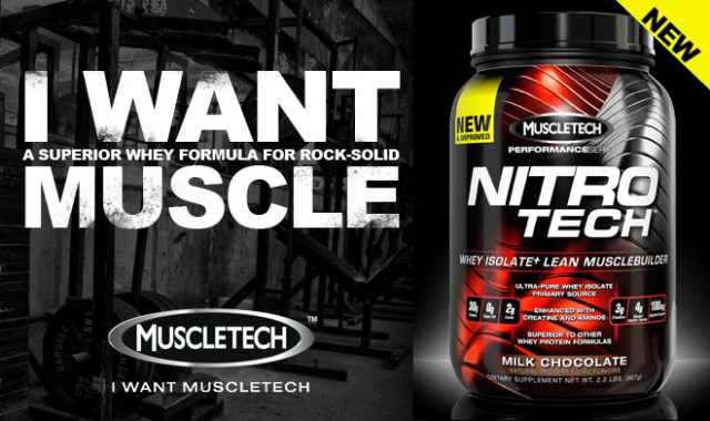 Muscletech Nitro Tech Perf Series Whey Protein