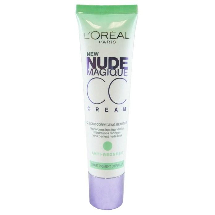 L'Oreal Paris Nude Magique CC Cream Anti-Redness