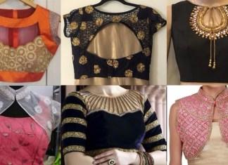 designer bridal blouse for silk saree