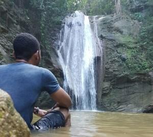 Kwame Falls Jamaica Waterfall