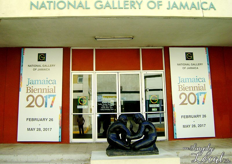 Jamaica Biennial inside Devon House & National Gallery