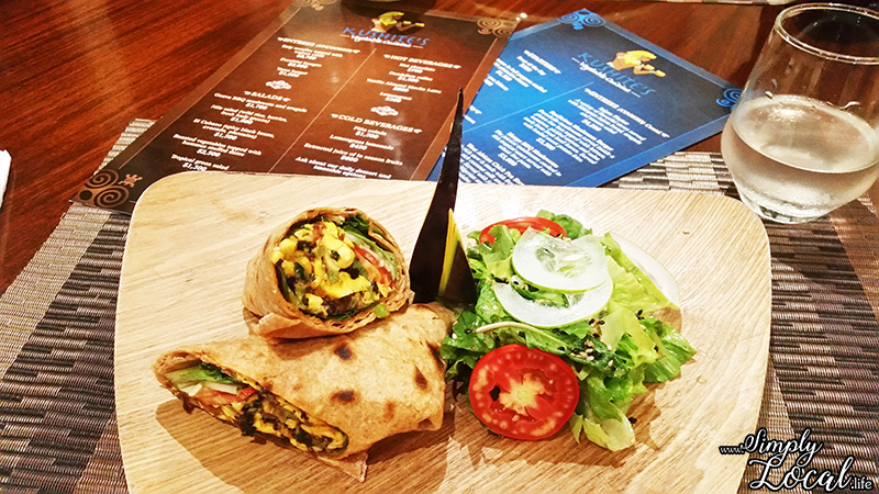 Health is Wealth at Kushite's Vegetable Cuisine