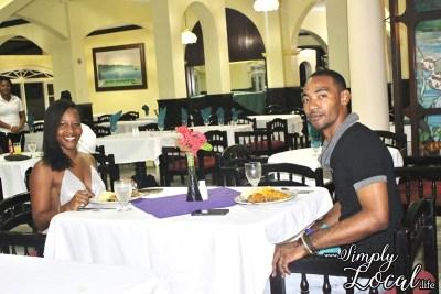 SeaGarden Resort- dinner