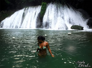Reach Falls Jamaica waterfall