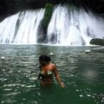 Reach Falls Jamaica waterfall