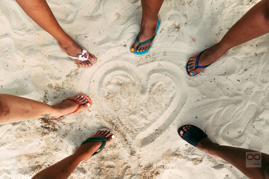 sunfactory jamaica ipanema sandals heart