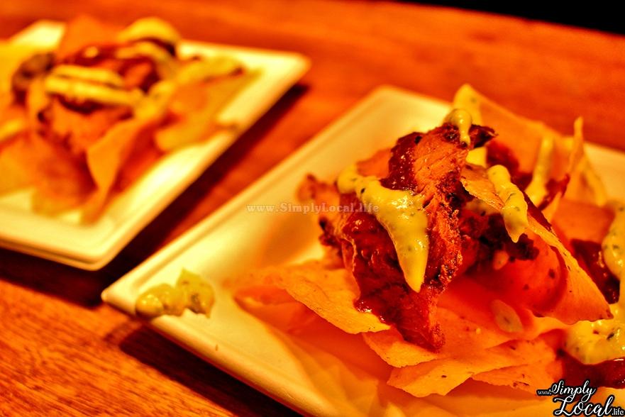 Pink Apron Holy Moly pork nachos Jamaica Food Festival