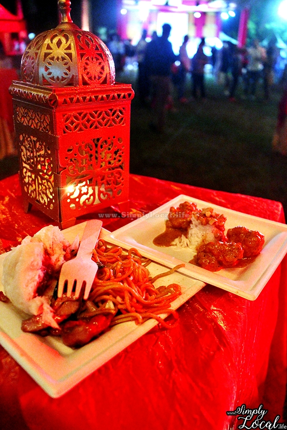 Jamaica Food Drink Fest Chopstix oriental table setting