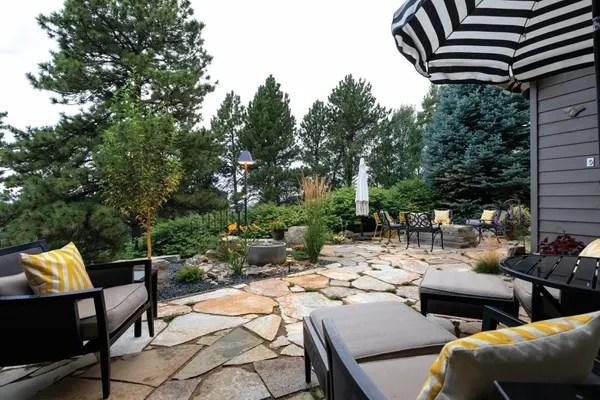 private patio paradise