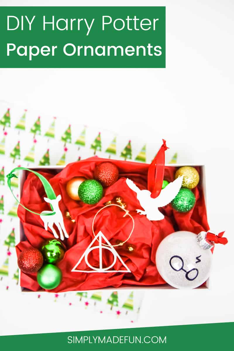 Diy Paper Harry Potter Ornaments
