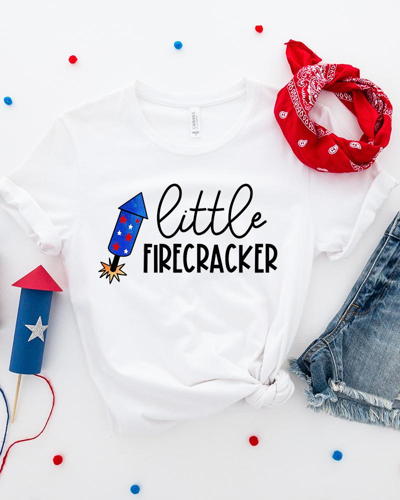 4th Of July Shirt Svg : shirt, Firecracker, Simply