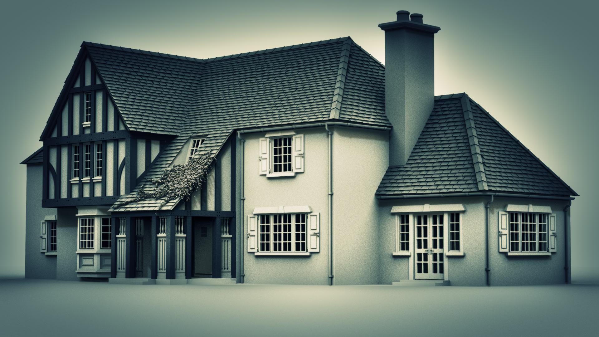 Simple House Exterior Design