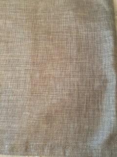 Darker Linen Table Runner with Metallic thread