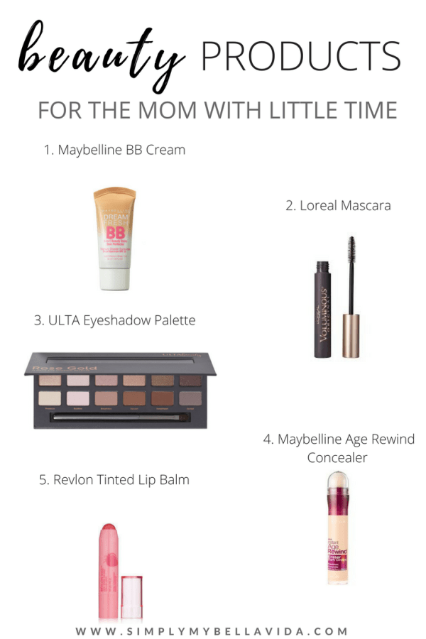 beauty products for moms with little time