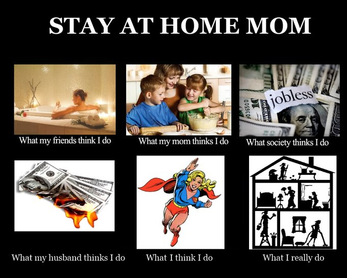 The ONE thing no one tells you about being a stay-at-home mom