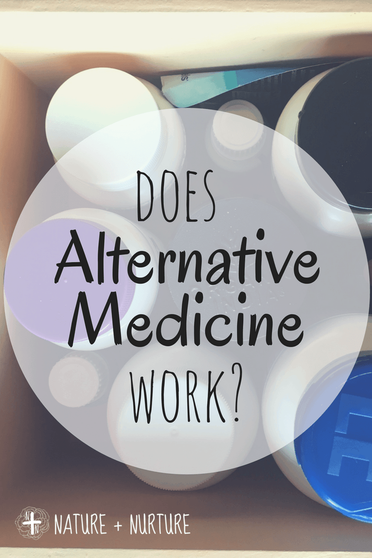 does alternative medicine work