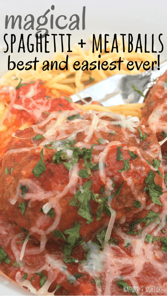 Spaghetti and meatballs is the ultimate comfort food, and this is the ultimate version of that comfort food. It only takes 30 minutes to prep and is the best spaghetti and meatballs recipe ever!