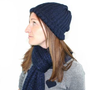 Spina Knitted Hat & Scarf Set