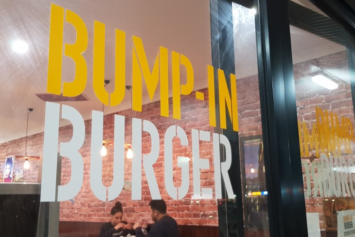 Bump in Burger, Woodvale