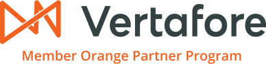 Vertafore Orange Partner logo