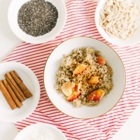 Amazing Apple-Cinnamon Morning Quinoa