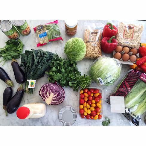Lunch // Salad via Simply Real Health
