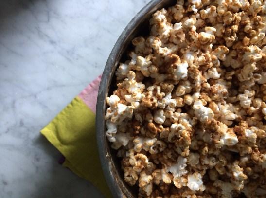 Peanut Butter Popcorn via Simply Real Health