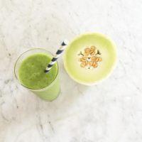 Honeydew-Mint Green Smoothie