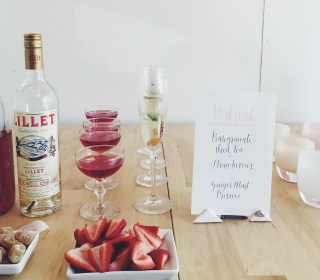 Bridal Shower Brunch How-To & Perfect Drink Recipes!