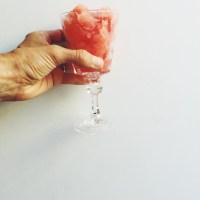 (The Easiest) Watermelon Granita