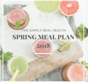 The Spring Meal Plan 2018 is RELEASED! Full Recipe List Inside