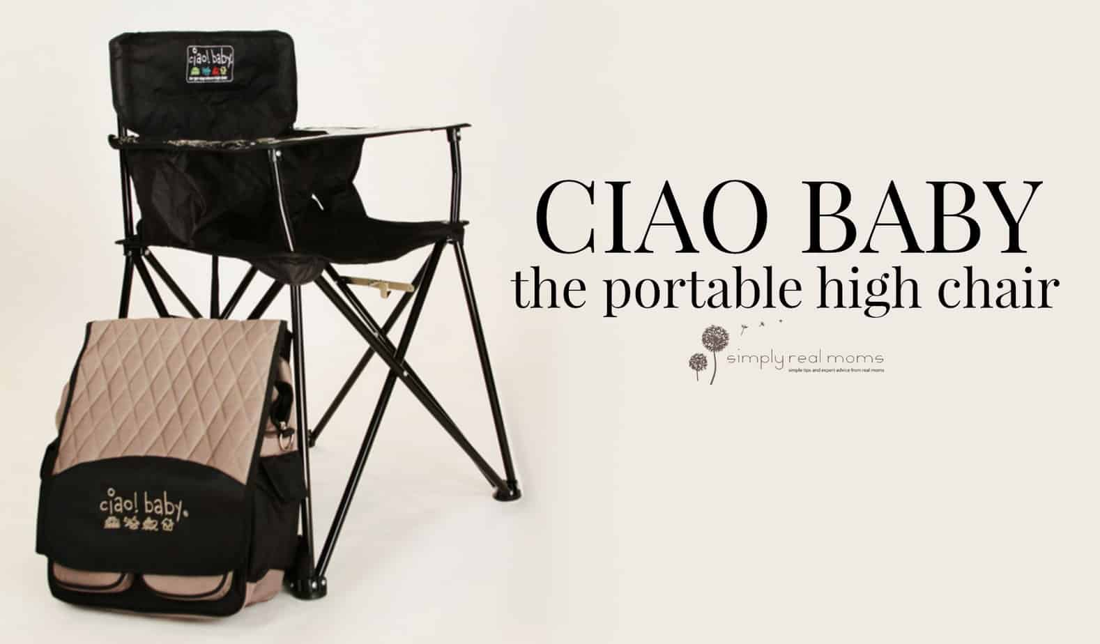 Ciao Portable High Chair Ciao Baby The Portable High Chair