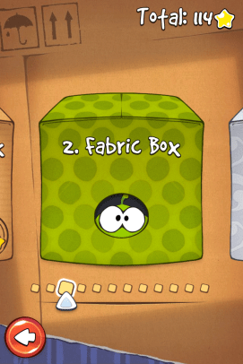 Exercise your mind with Nom Nom in Cut the Rope.